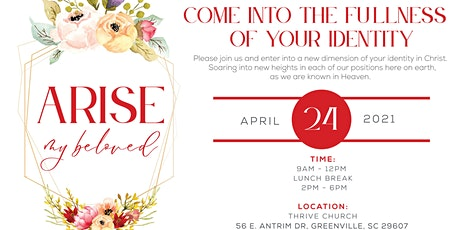ARISE MY BELOVED - WOMEN'S CONFERENCE tickets