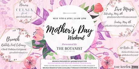 Mother's Day Brunch in the Yard presented by Botanist Gin tickets