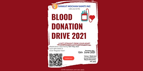 Blood Donation Drive 2021 tickets