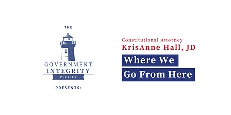 "Seminar With Constitutional Attorney KrisAnne Hall: ""Where We Go From Here"" tickets"