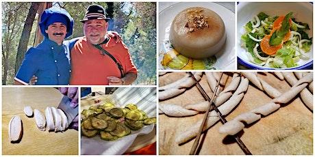 Make Busiate Pasta with Giuseppe Sciurca and Biancomangiare with Nino Elia biglietti