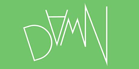 DAMN Writing Website Launch tickets