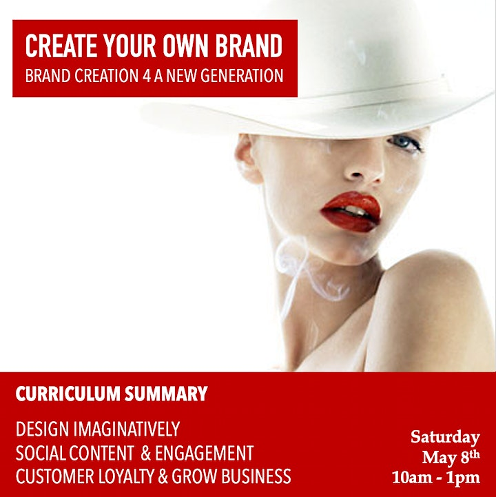 FASHION START UPS:  Brand Creation + Product Designs + Marketing Campaigns image