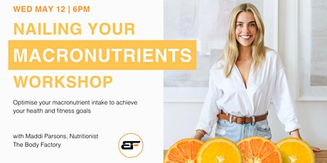Nailing Your Macros Nutrition Workshop tickets