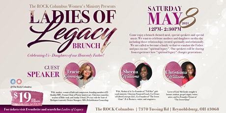 The ROCK Columbus Ladies of Legacy Brunch tickets