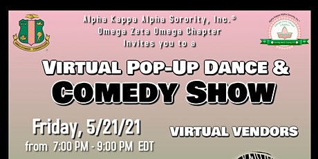 Pop Up Dance & Comedy Show tickets