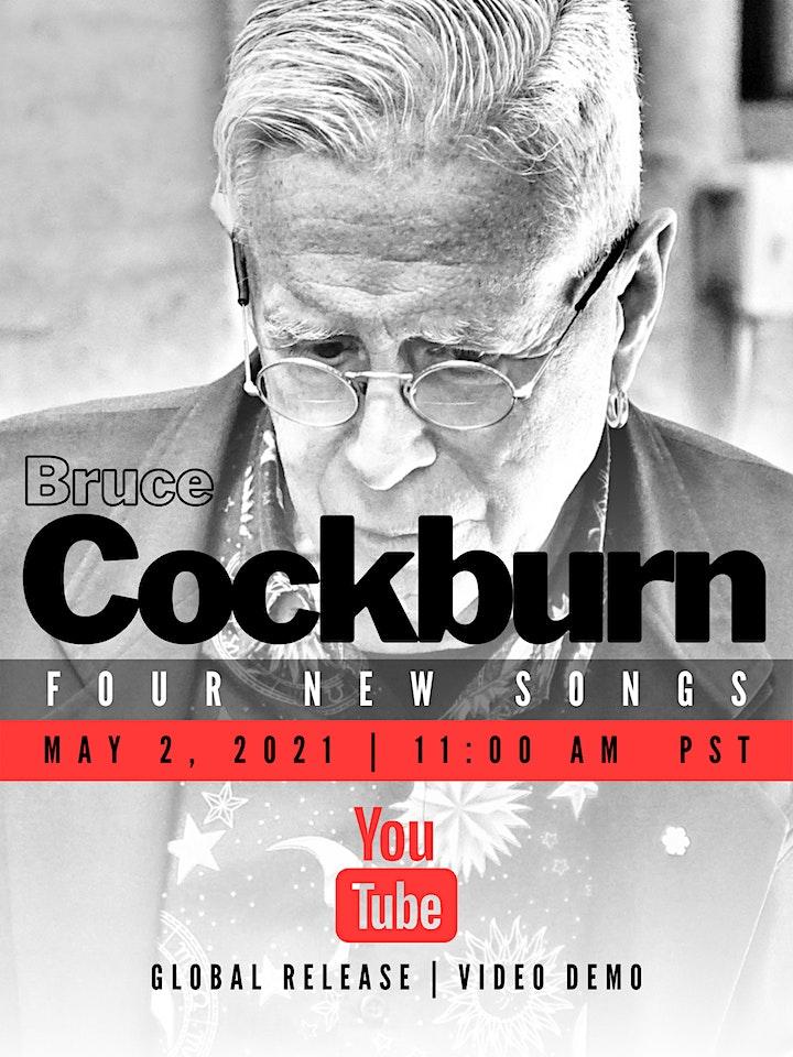 BRUCE COCKBURN - FOUR NEW SONGS image