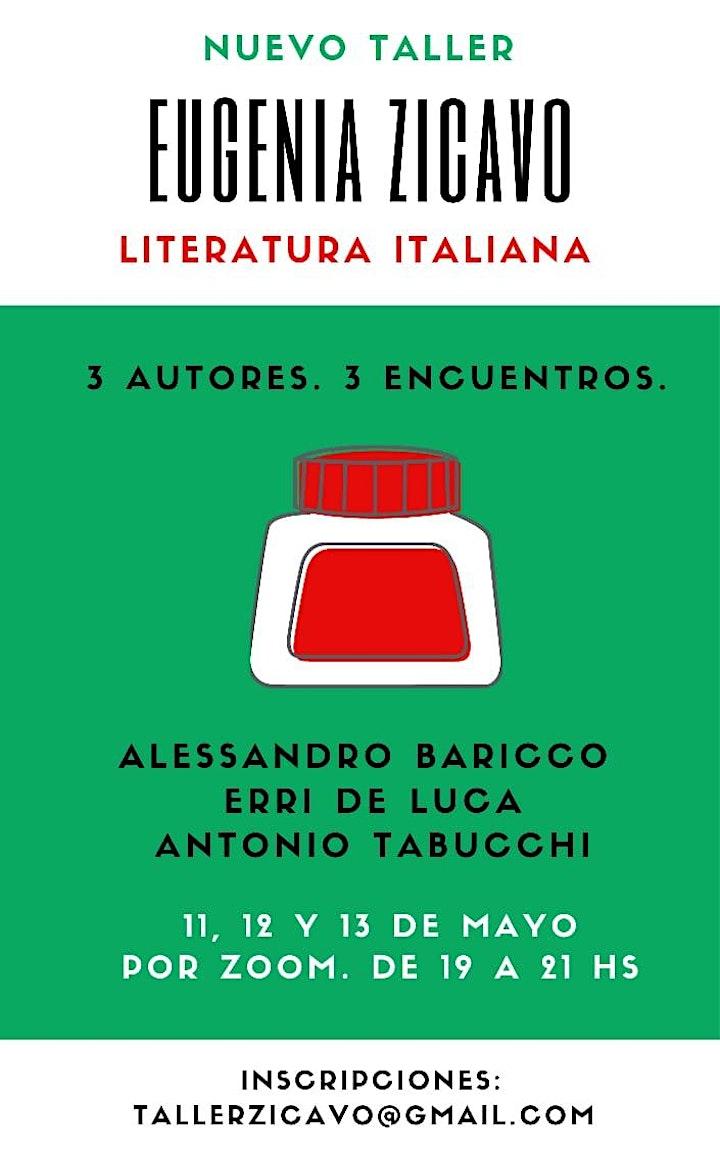 Imagen de Taller de Literatura italiana contemporánea: Baricco, De Luca, Tabucchi