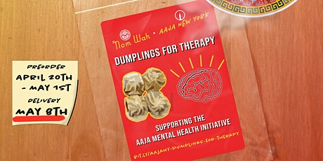 Dumplings for Therapy: Fundraiser for AAPI Journalists' Mental Health tickets