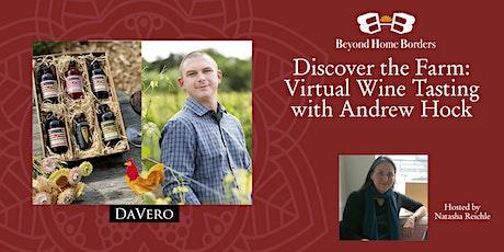 Discover the Farm: Virtual Wine Tasting Tickets