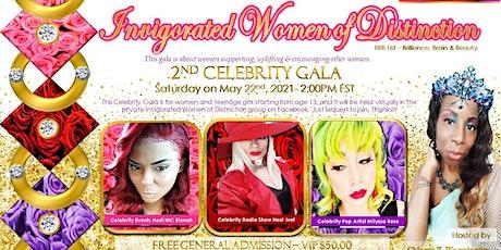 2ND INVIGORATED WOMEN OF DISTINCTION - CELEBRITY GALA - FREE VIRTUAL tickets