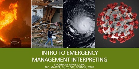 Intro to Emergency Management Interpreting (5/29/21 or 6/12/21) tickets