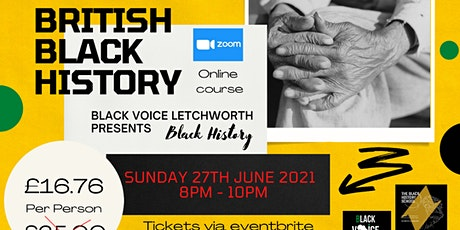 British Black History Online Course tickets