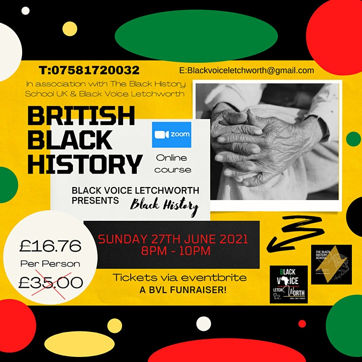 British Black History Online Course image