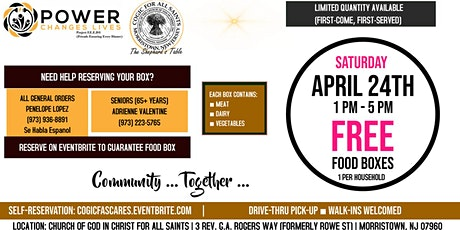 FREE Food Box Program tickets