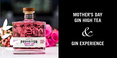 Maison de Moon & Prohibition Gin  Mother's Day Gin Experience - Afternoon tickets