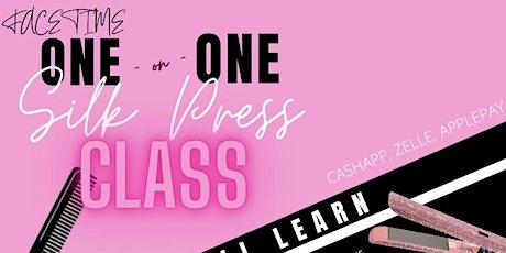 1on1 SILKPRESS FACETIME CLASS tickets