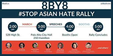 #StopAsianHate Rally #8by8 tickets