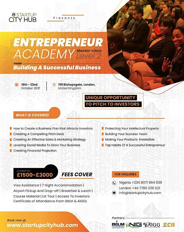 Entrepreneur Academy Masterclass Level 2 image