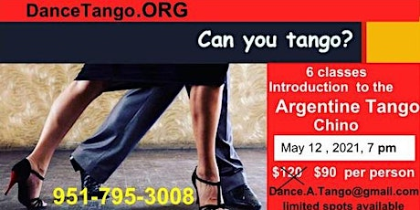 Introduction to the Argentine Tango tickets