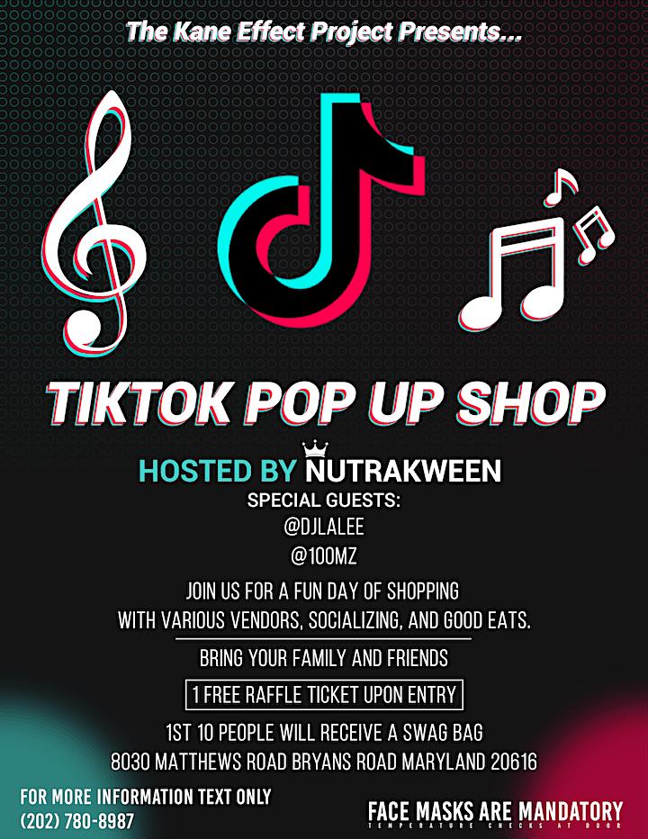 TikTok Pop Up Shop image