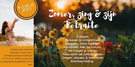 Zomer, Zing & Zijn Retraite tickets