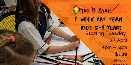 5-8 Year Old Kids 8 week Art Term - Tuesdays tickets