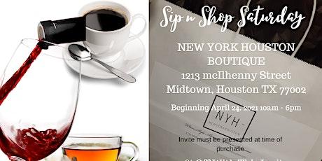 Sip n Shop Saturdays tickets