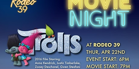 Movie Night - Trolls at Rodeo 39 tickets