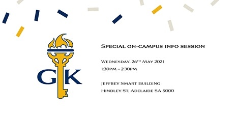 Special on campus information session tickets