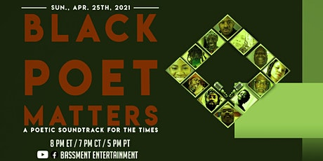 Black Poet Matters - A Poetic Soundtrack for the Times (Session 10) tickets