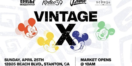 Vintage X at Rodeo 39 tickets