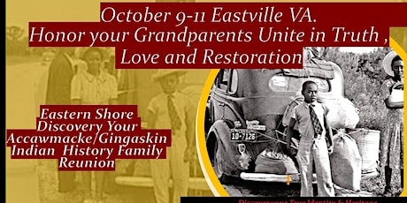 Eastern Shore Discovery Your Accawmacke Indian  History Family Reunion tickets