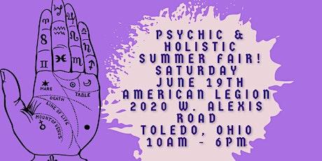 Rock Your World Summer Psychic & Holistic Fair in Toledo! tickets