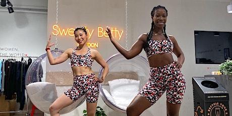 Chloe Chin & Pearl Kirati x Sweaty Betty: Dance Cardio + Sculpt tickets