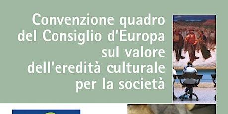 Webinar 25 – DG–ERIC: Strategie per l'educazione al patrimonio biglietti