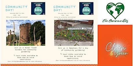 Community  Day #10xGreenerCH1 - Water Tower Gardens & Newtown tickets