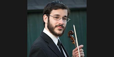 約瑟夫 · 克羅姆霍茲 Joseph Kromholz 小提琴線上獨奏會 Tickets