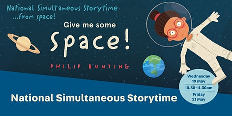 Give Me Some Space - National Simultaneous Storytime tickets