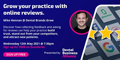 Grow Your Practice With Online Reviews tickets