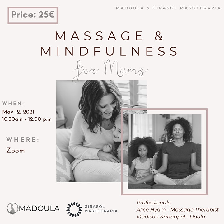 Massage & Mindfulness  for Mums image
