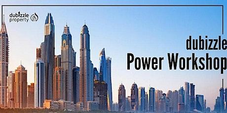dubizzle Power Workshop - Online English Session tickets