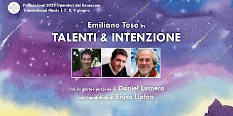 Talenti & Intenzione | Formazione Operatori Benessere Translational Music biglietti