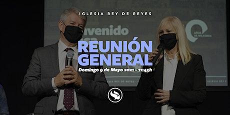 Reunión general - 09/05/21 - 11:45h tickets