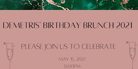 Demetris' Birthday Brunch tickets