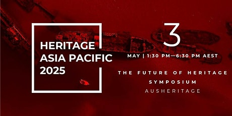 Heritage Asia Pacific 2025 tickets