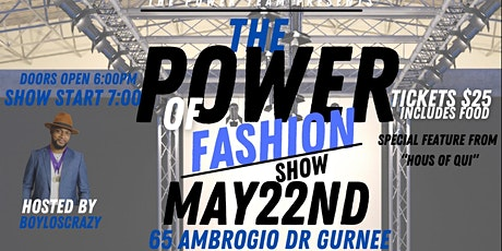 The Power of Fashion Show tickets