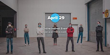 Online Interest Event tickets