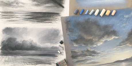 Zoom Drawing Classes with Rebecca de Mendonça. Class 8, Skies tickets