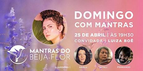 25/04 - Domingo com Mantras do Beija Flor ingressos
